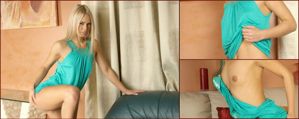 Very sensual and hot blonde girl named Jalila - 62