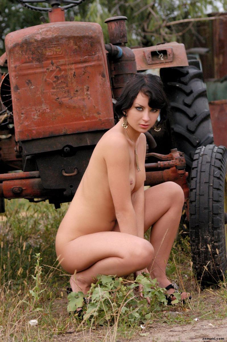 Miki as a farmer's wife - 6