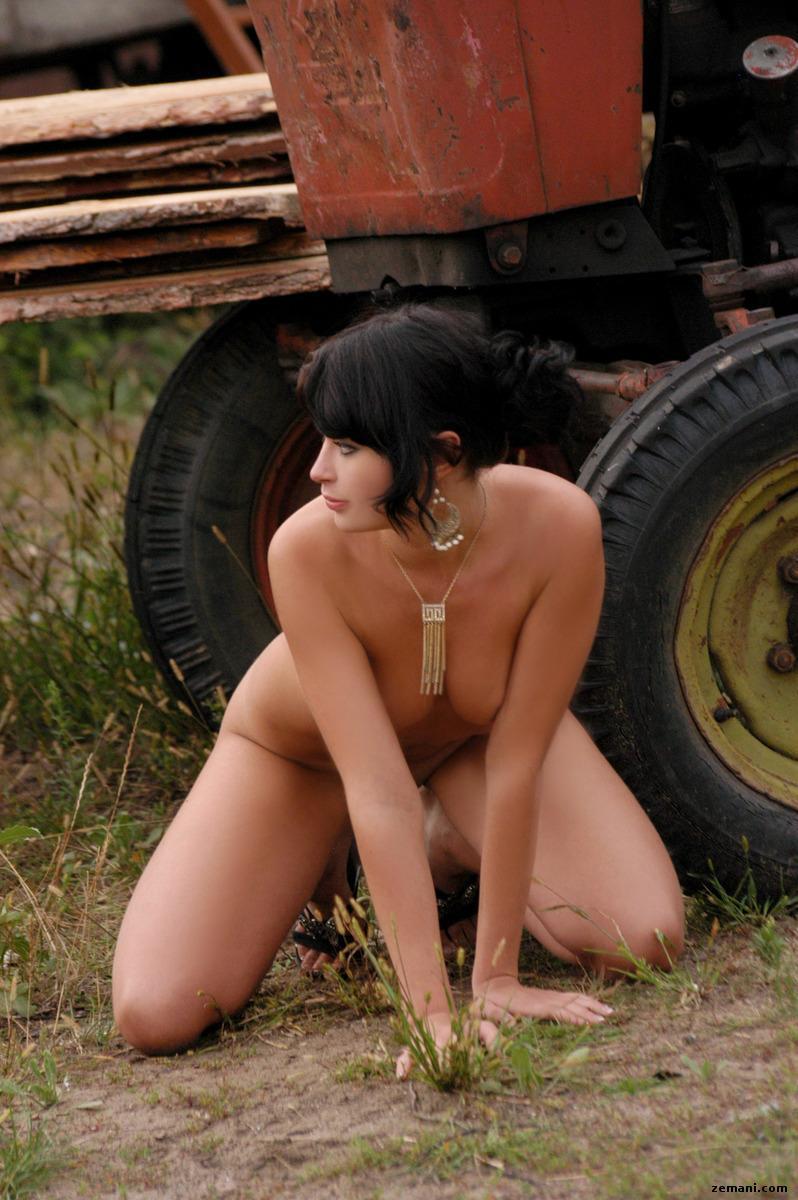 Miki as a farmer's wife - 7