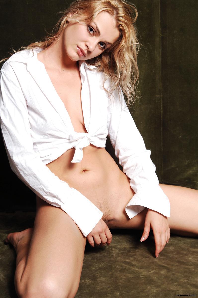 Pretty girl in white shirt - Luza - 6