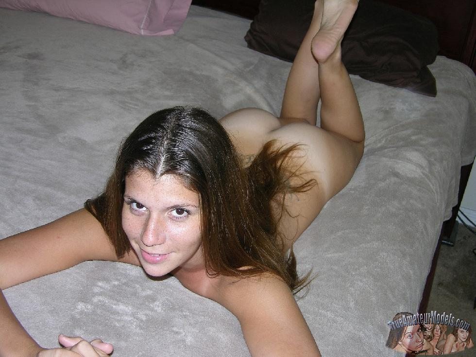 Young amateur with long hair - J.C. - 13