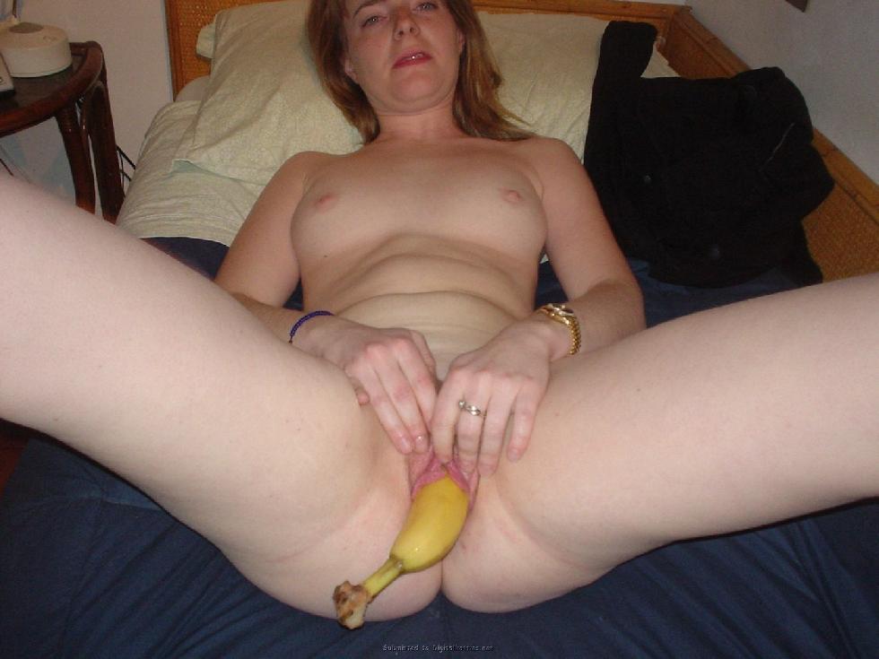MILF who likes bananas - 8
