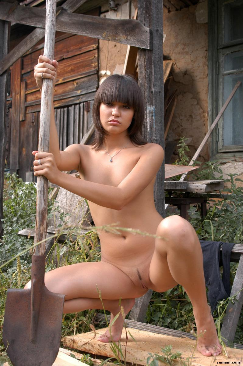 Pretty young girl from countryside - Innusya - 9
