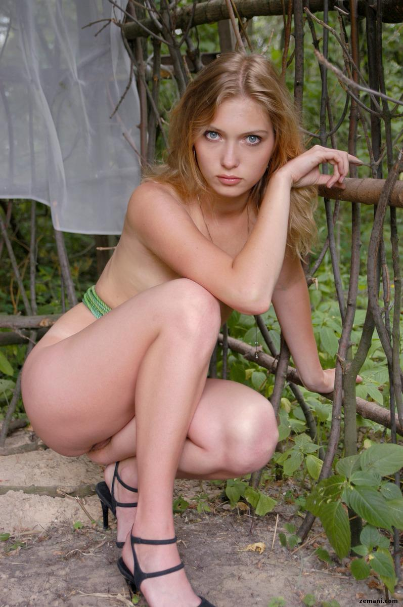 Wild and beautiful girl named Blanka - 4