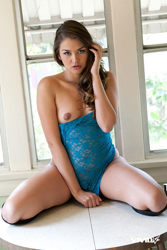 Fantastic young girl with hairy pussy - Allie Haze - 13