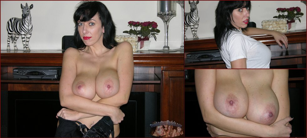 Busty MILF with huge natural boobs - Frankie - 63