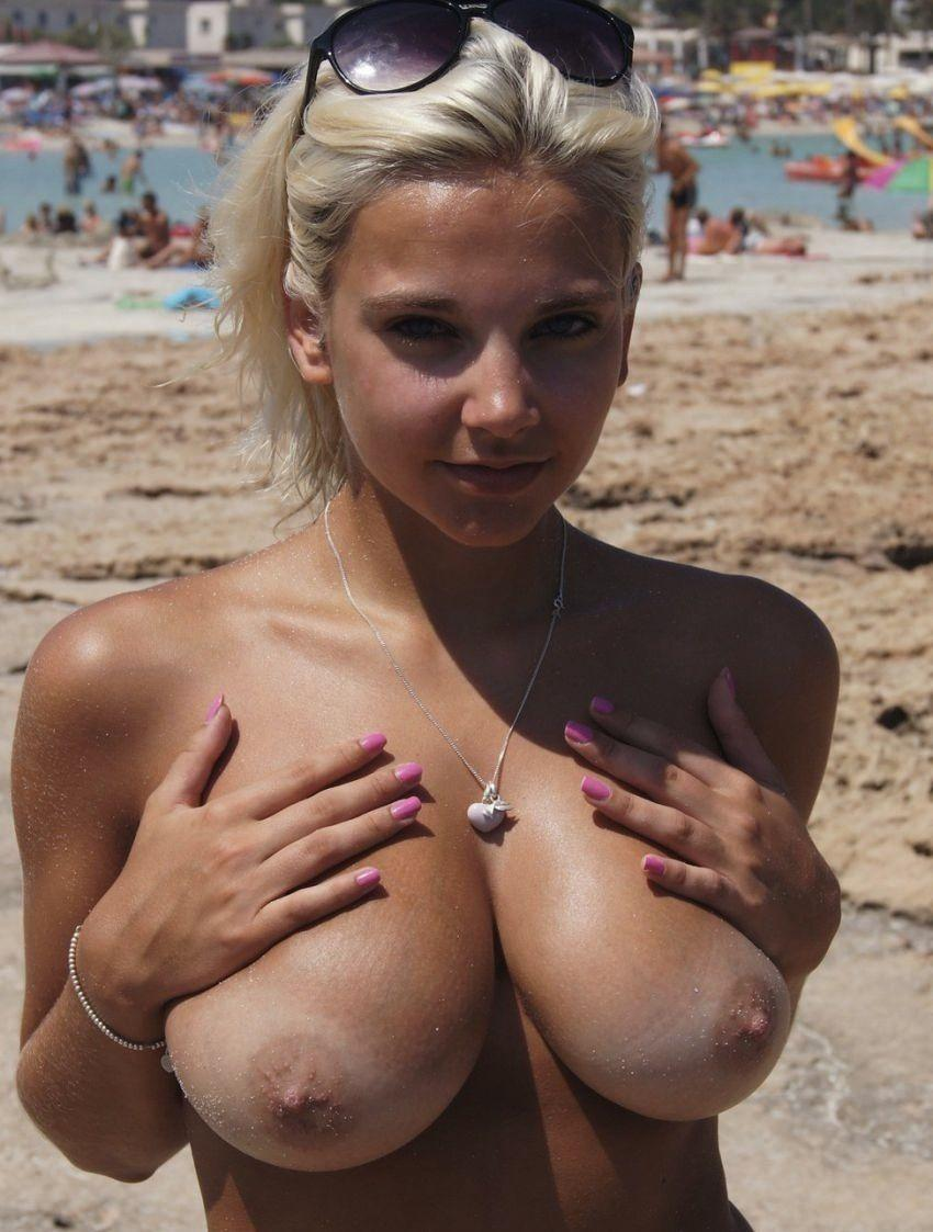 Girls show nice boobies. Part 5 - 27