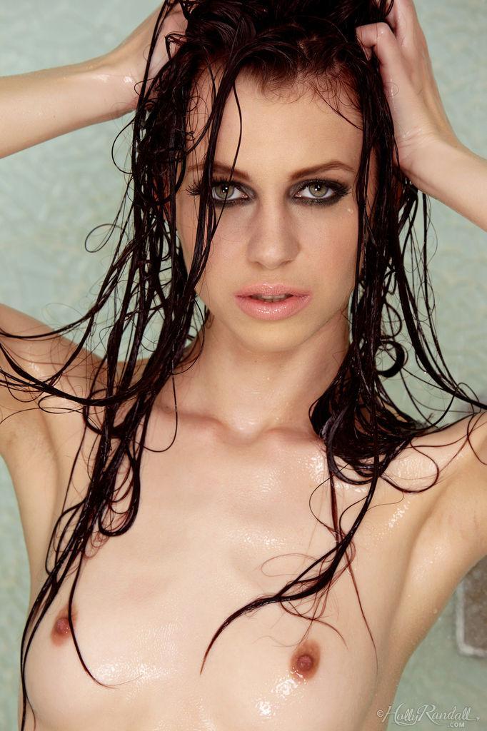 Skinny Jessica Dawn is taking a shower - 6