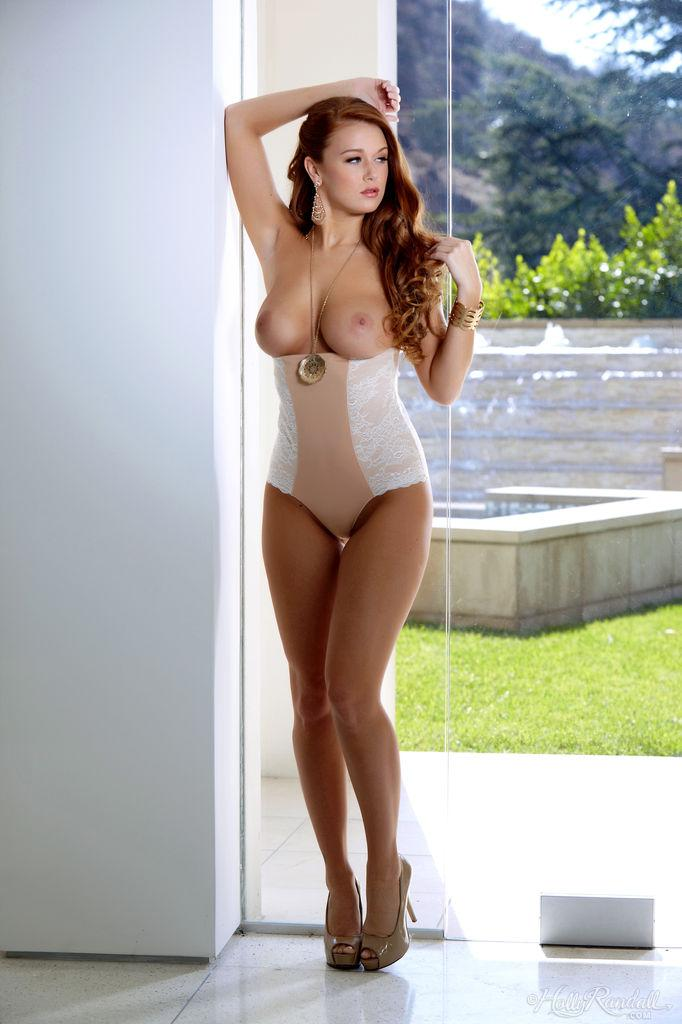 Exclusive redhead shows very hot body - Leanna Decker - 4