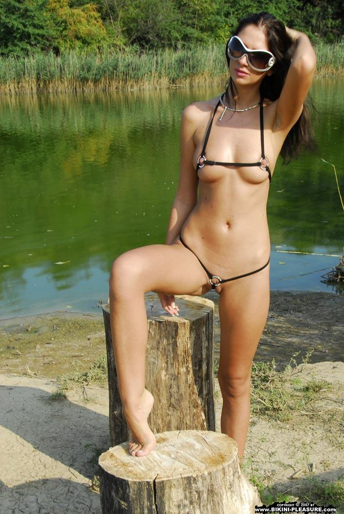 Bambi is posing in very hot bikini - 4