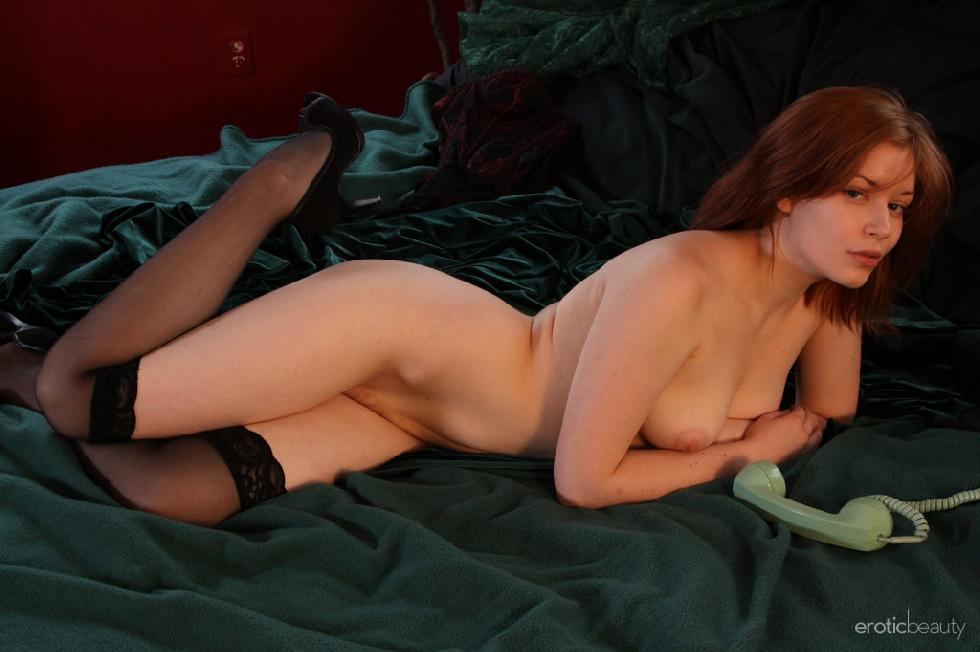 Red-haired Kimberly shows firm ass - 8