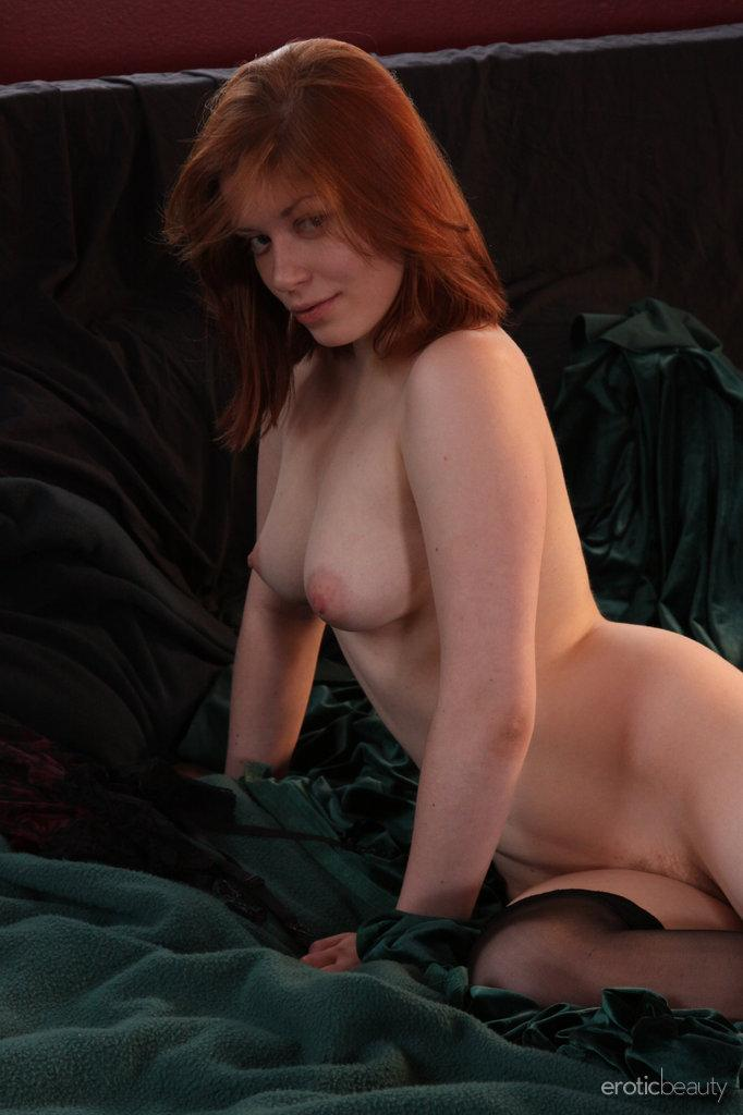 Red-haired Kimberly shows firm ass - 9