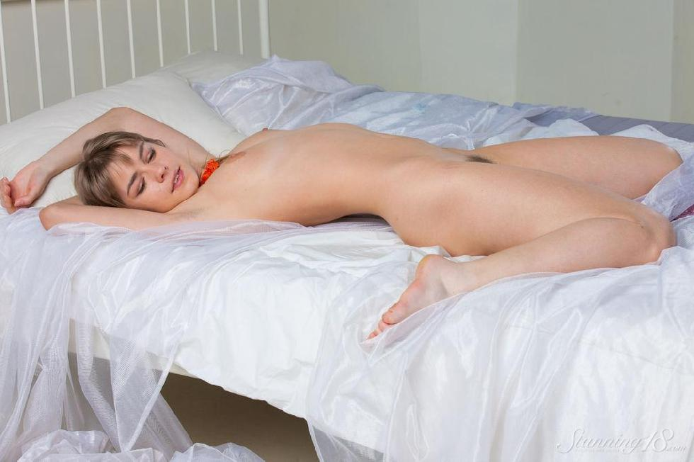 Pretty young girl shows her pussy - Lalovv - 13