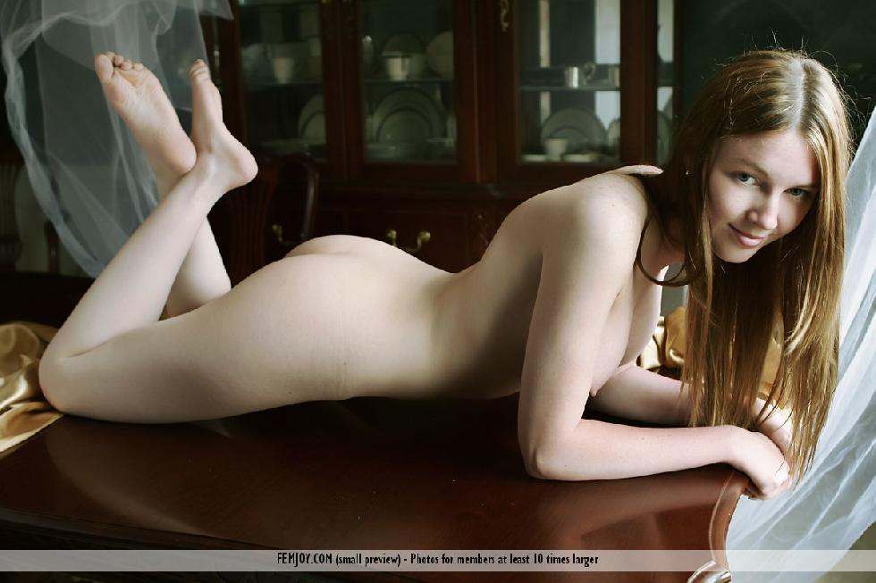 Delicate session with gorgeous young Megan - 14