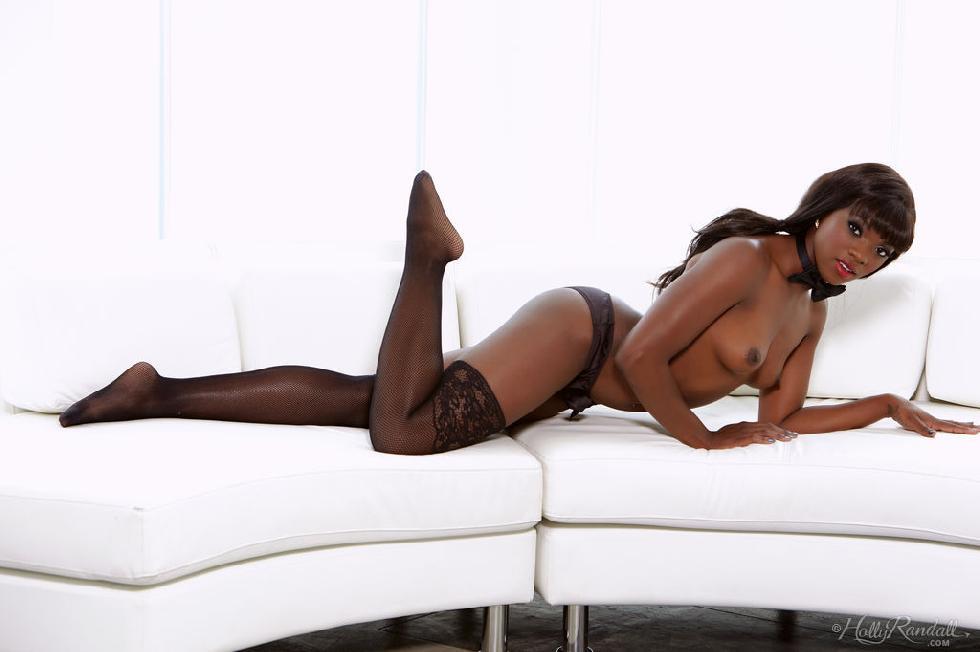 Sexy ebony shows sweet pussy - Ana Foxxx - 5