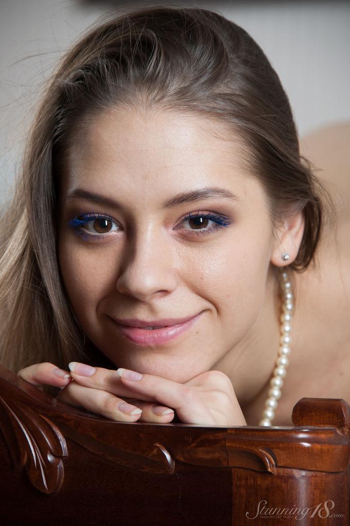 Sensual young temptress with long hair - Olya - 10