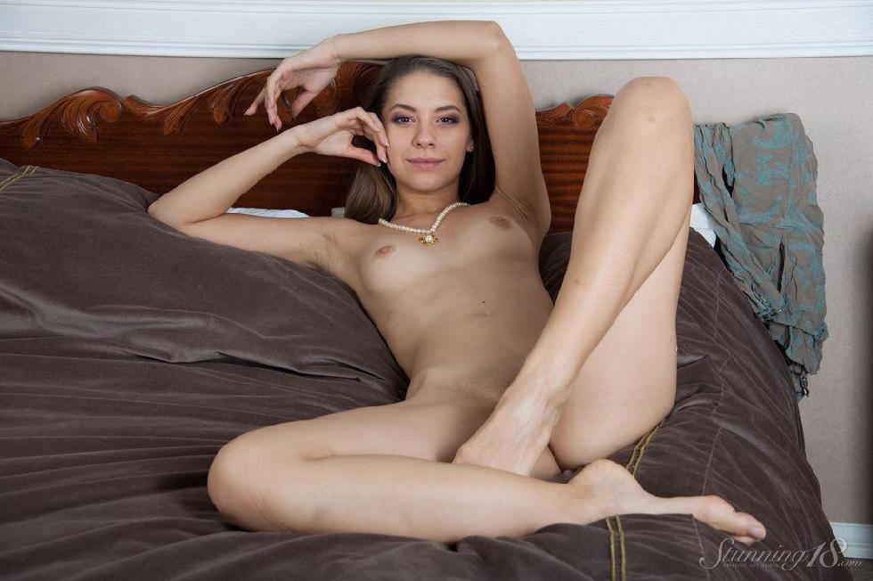 Sensual young temptress with long hair - Olya - 14