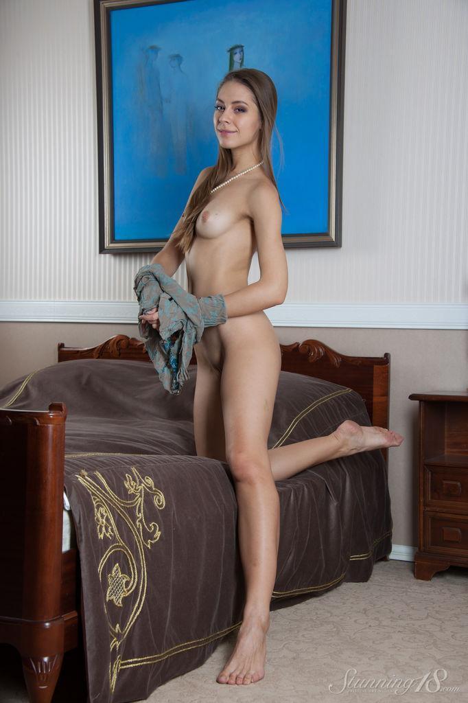 Sensual young temptress with long hair - Olya - 7