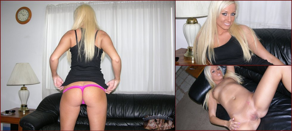 Tanned blonde with tattoo - Brooklyn - 50