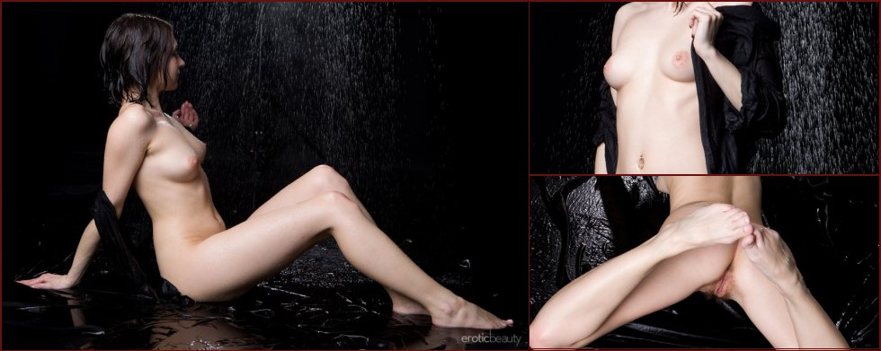 Wet Shirley in professional photoshoot - 31