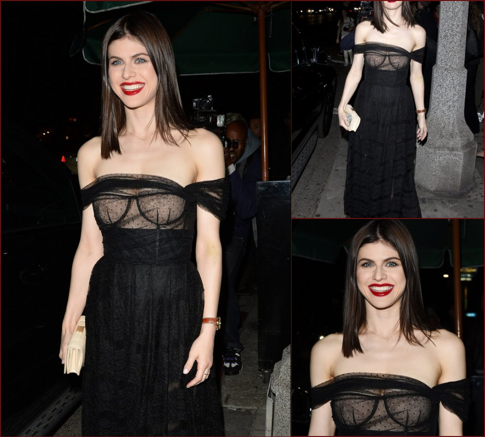 Alexandra Daddario in very sexy dress - 53
