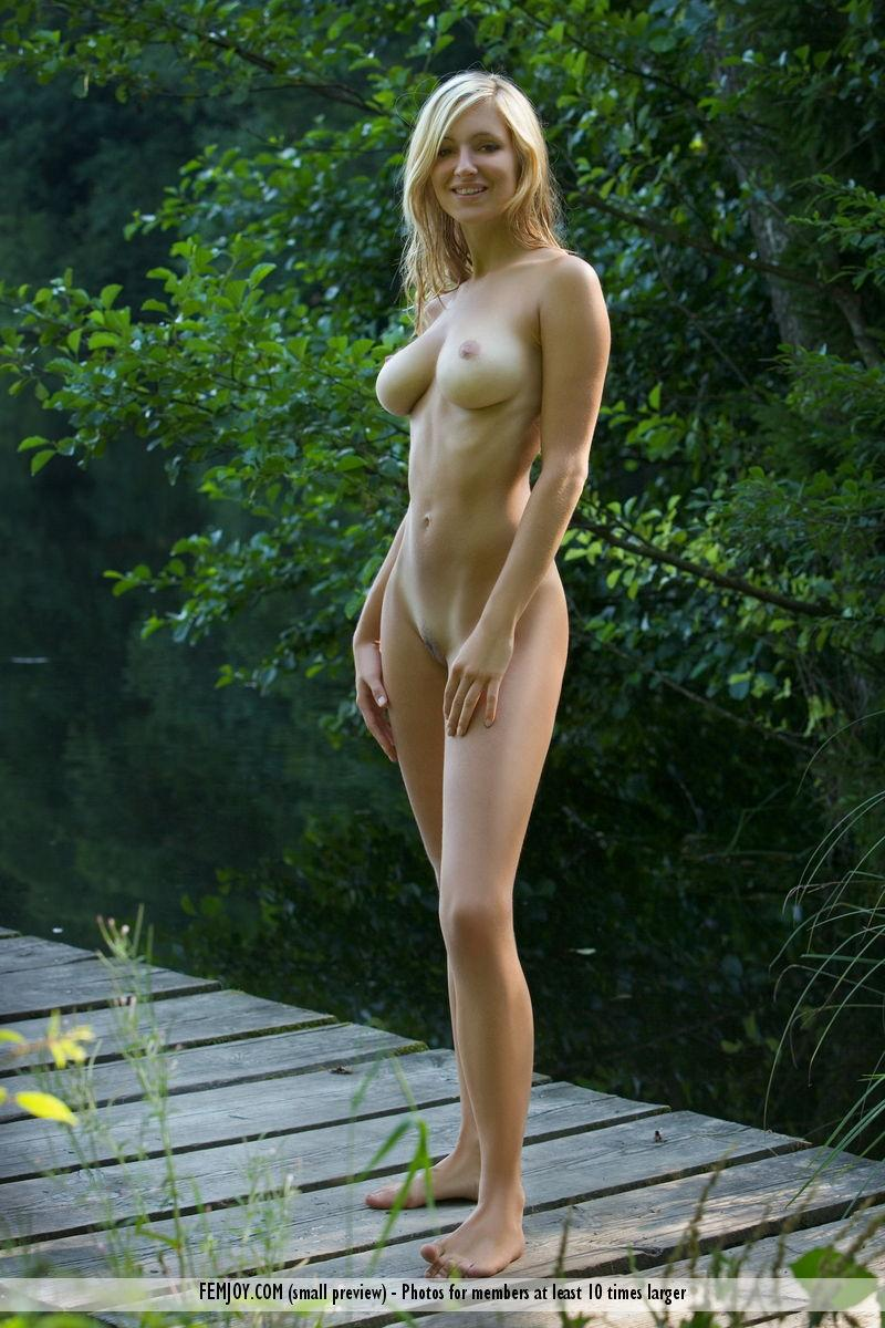 Improbable. corinna nude model blonde