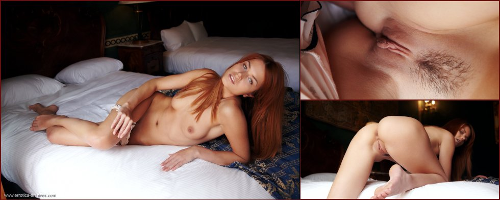 Amazing redhead is showing naked body - Kami - 47