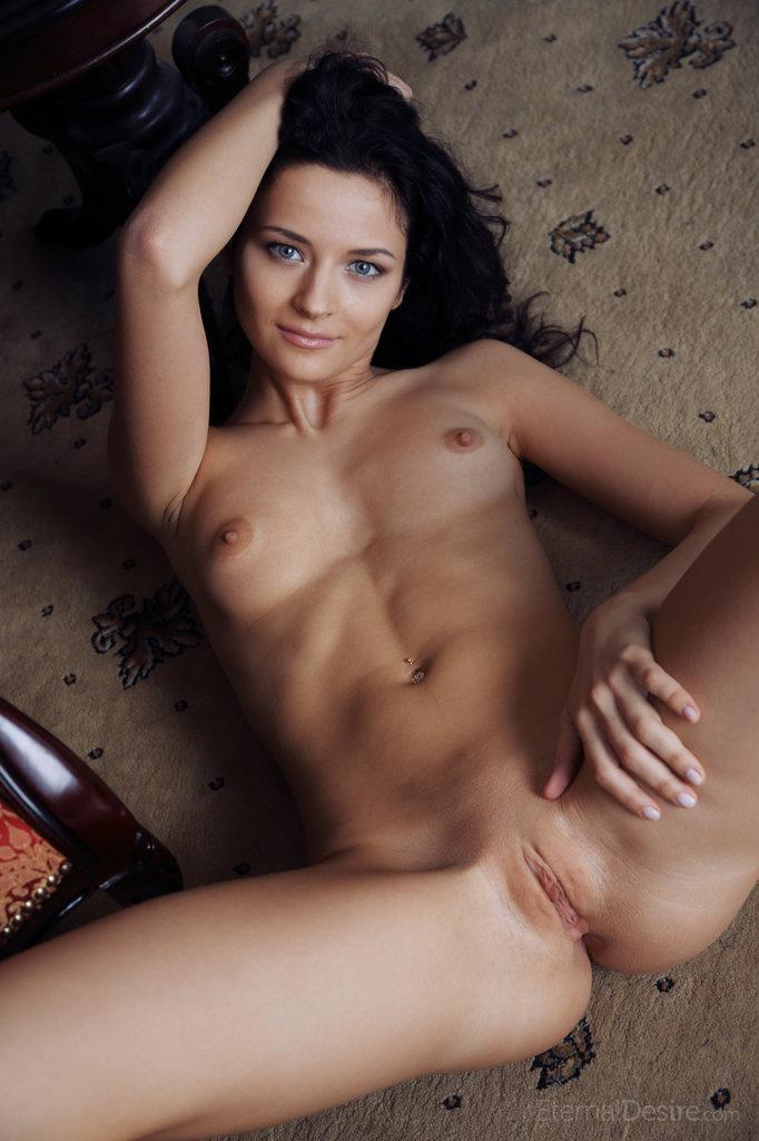 Blue-eyed Ardelia is spreading her legs - 15