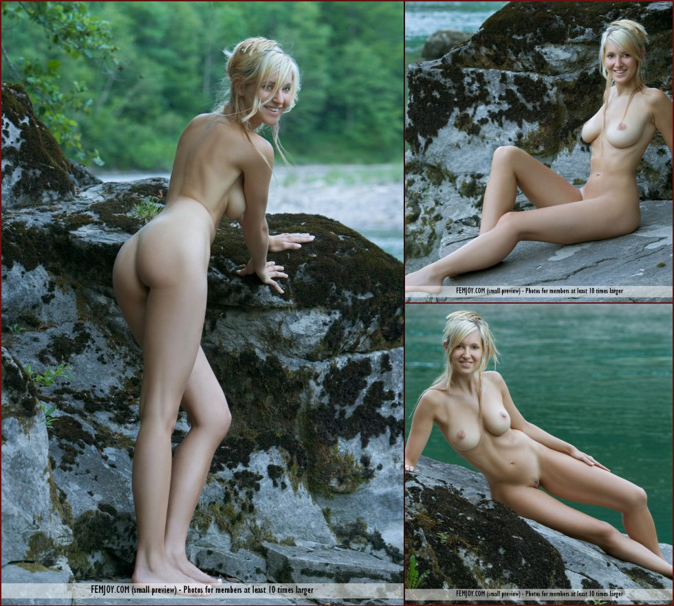 Wonderful Corinna loves to pose naked in nature - 18