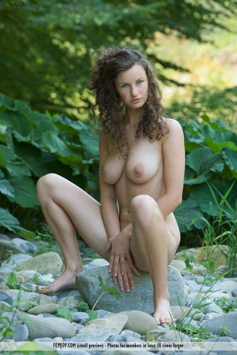 Naked session in nature with beautiful Susann - 6