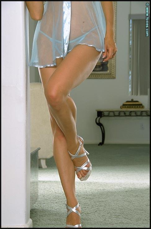 Anna Marie Goddard strips sexy underskirt - 4