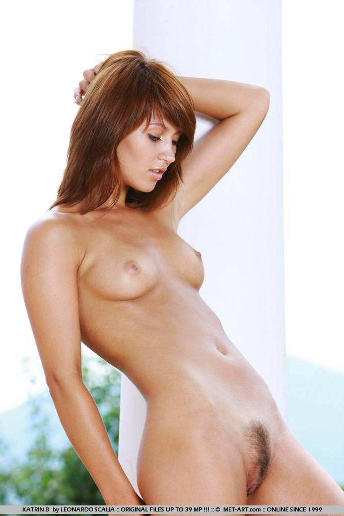 Stunning redhead with tanned body - Katrin - 10