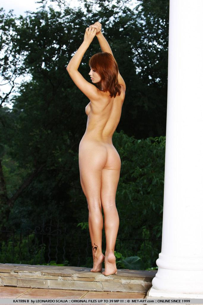Stunning redhead with tanned body - Katrin - 11