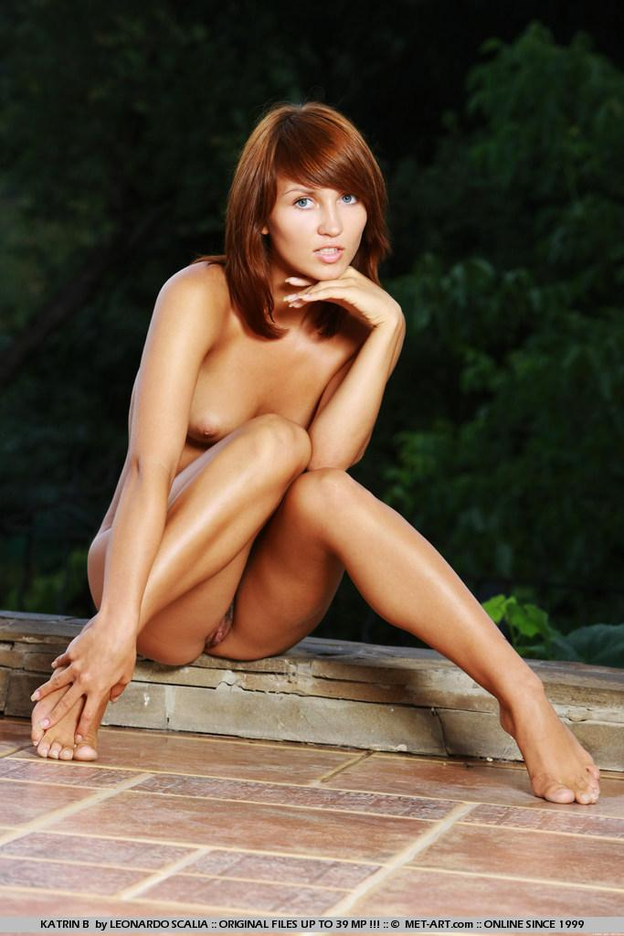 Stunning redhead with tanned body - Katrin - 16