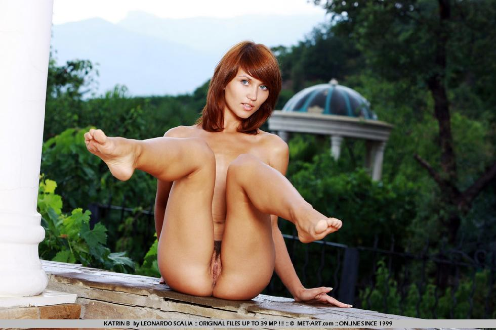Stunning redhead with tanned body - Katrin - 17
