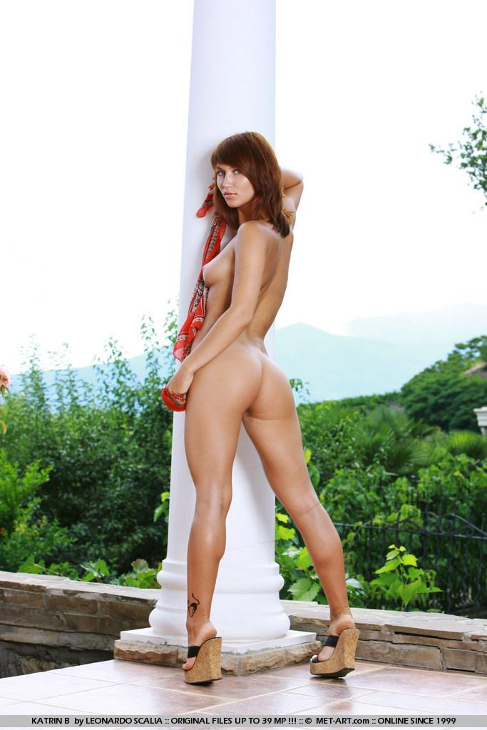 Stunning redhead with tanned body - Katrin - 3