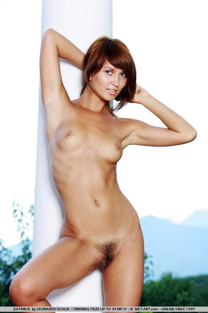 Stunning redhead with tanned body - Katrin - 9
