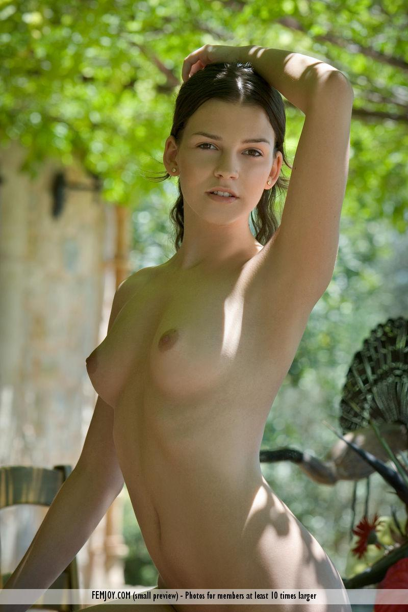 Charming Eva shows her young body - 5