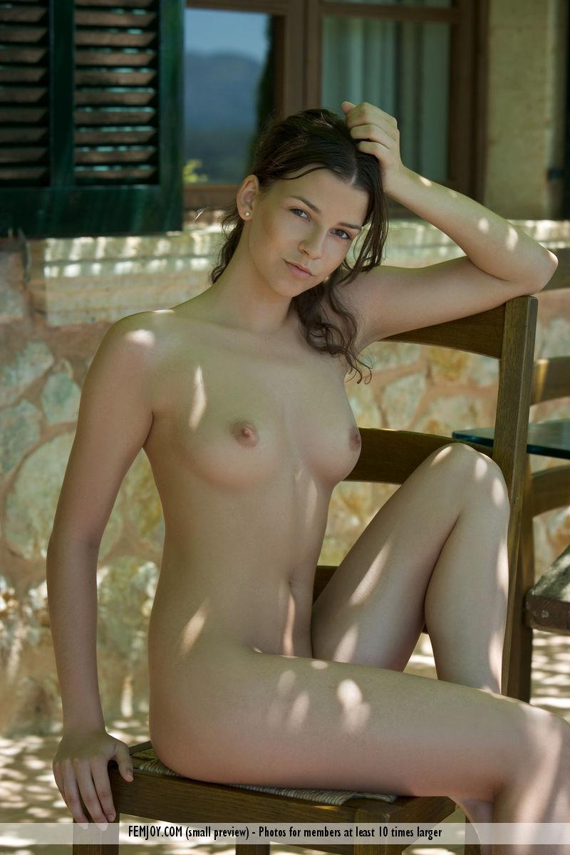 Charming Eva shows her young body - 8