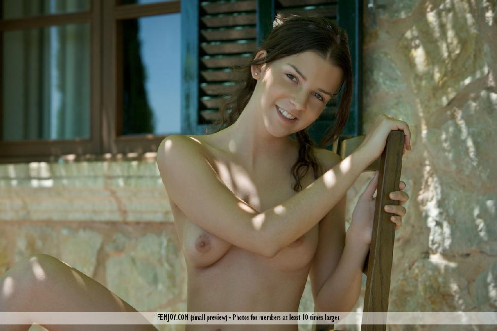 Charming Eva shows her young body - 9