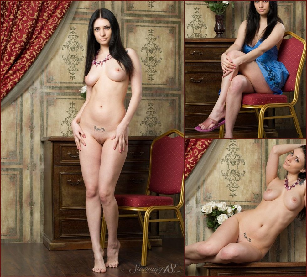 Stunning brunette with great body - Marina - 38