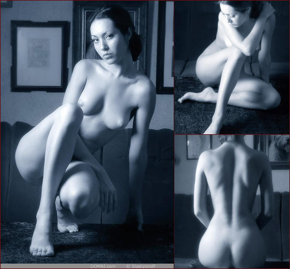 Professional session with naked Zanna - 5