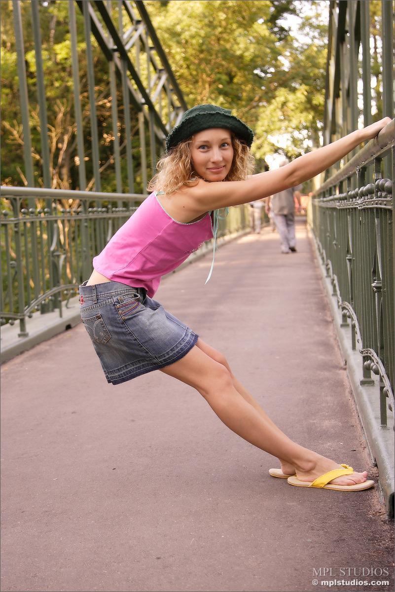 Cute Masha Shows Little Upskirt (12 Pics)