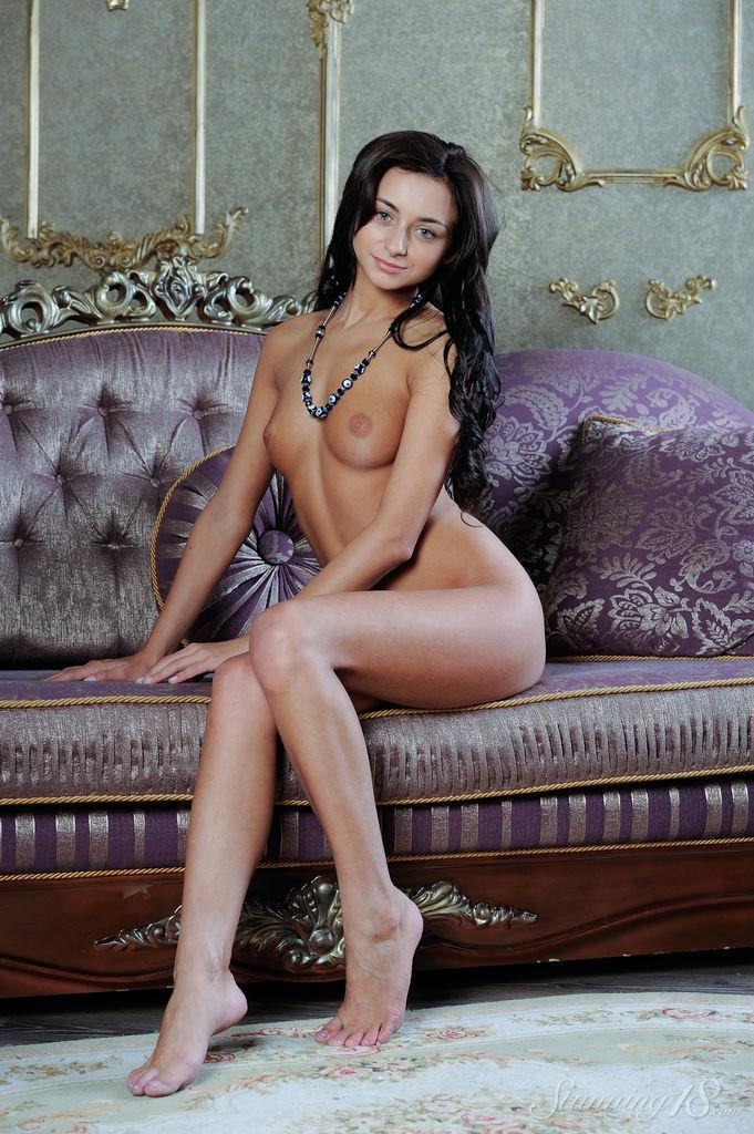 Dominika Dark shows young and tanned body - 15