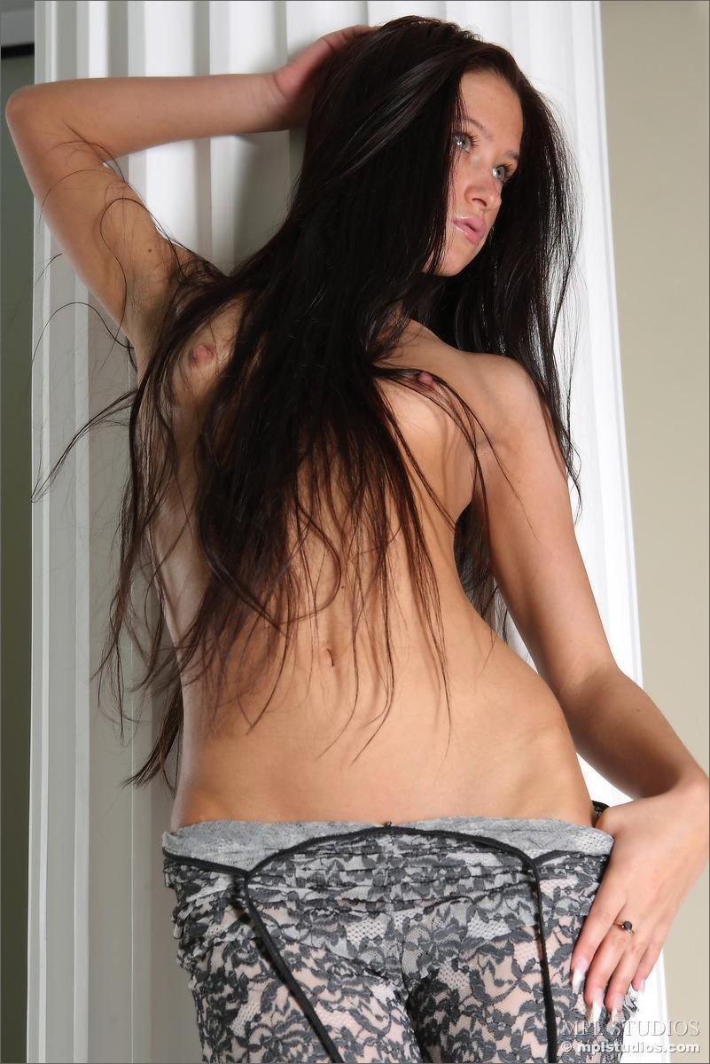 Long-haired Maria shows her very sexy body - 9
