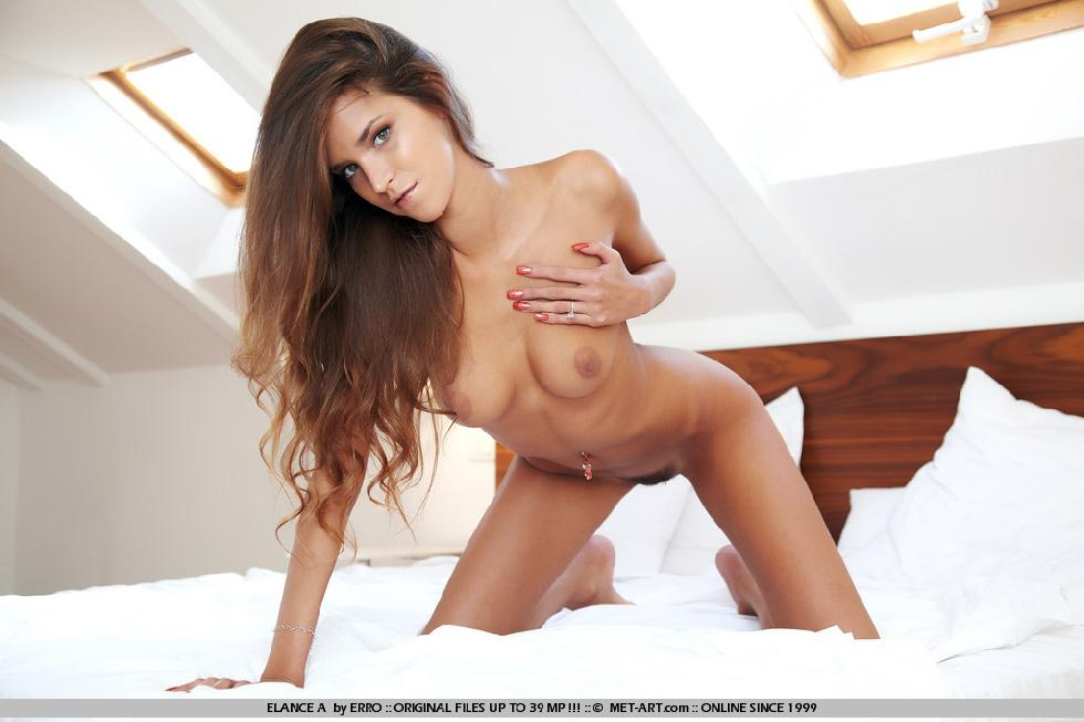 Fantastic Sylvie Deluxe is tempting on the bed - 10