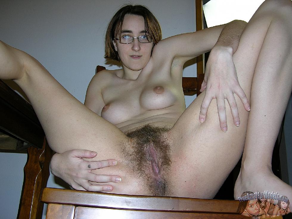 Amber is showing her hairy pussy. Part 2 - 3