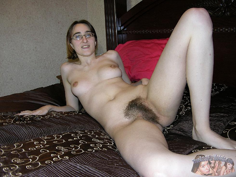 Amber is showing her hairy pussy. Part 2 - 4