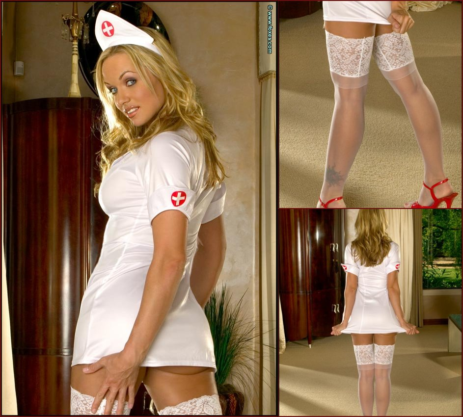 Amber Evans as sexy and very horny nurse - 53