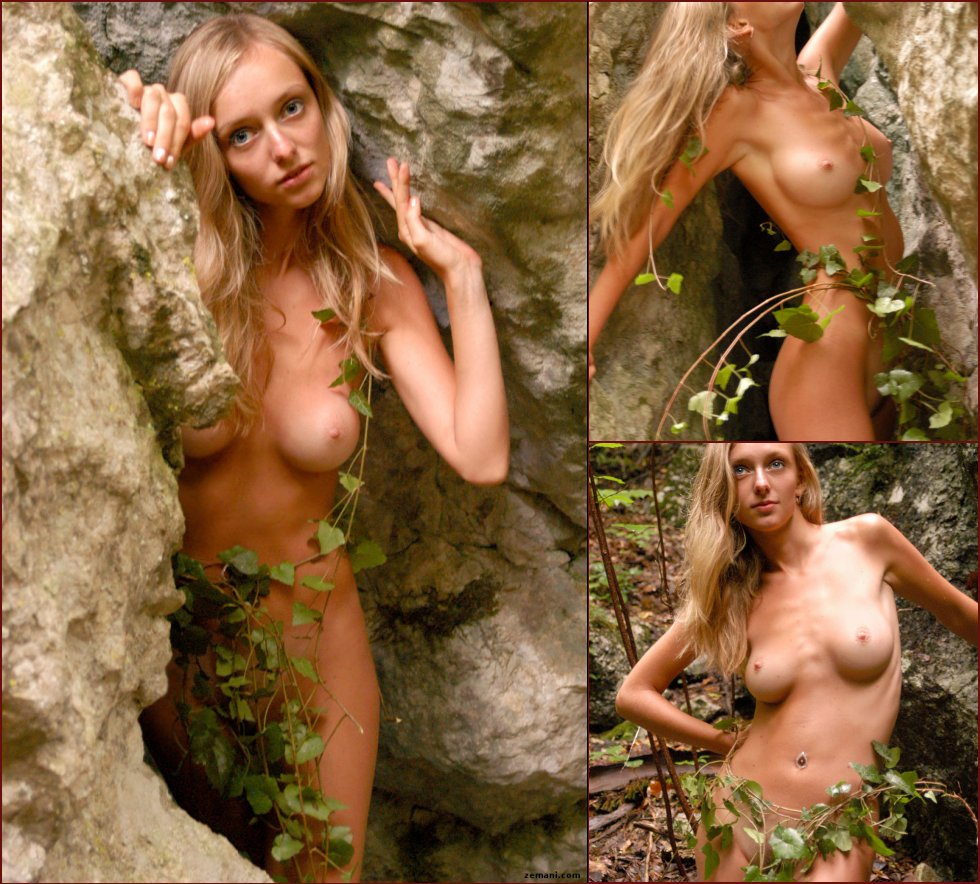 Wild and naked Zina in nature. Part 1 - 1